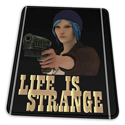 Gun Life is Strange Art Camisetas Dobladillo de la Alfombrilla de ratón Esports Office Study Computer