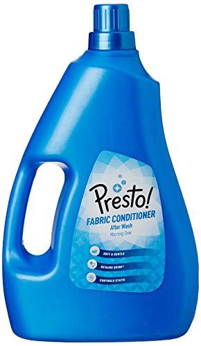 Amazon Brand - Presto! Morning Dew Fabric Conditioner - 2 L