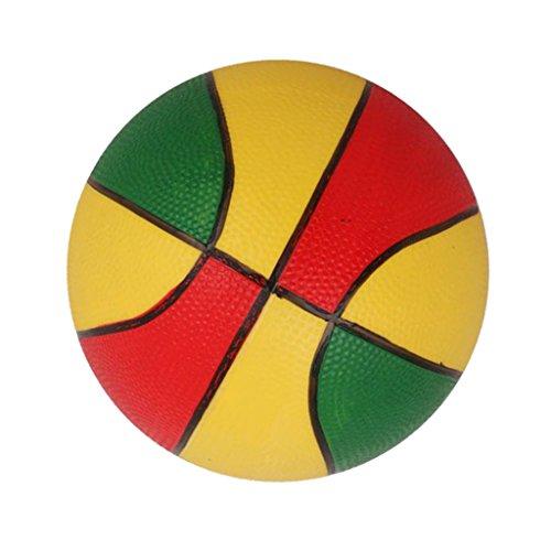 Mini-basket Coloré Jouet de Sports d'Intérieur/d'Extérieur pour Enfants - Jaune Et Rouge