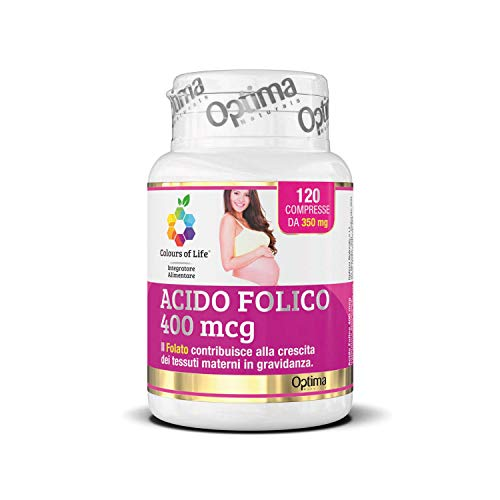Colours Of Life Acido Folico, 120 Compresse da 350 Mg