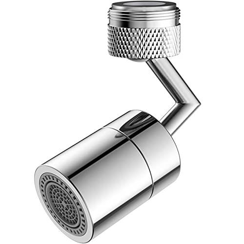 Filtro para grifo de baño a prueba de salpicaduras, 4 capas, extensión de filtro de espuma ajustable a 360 grados, para grifo de cocina