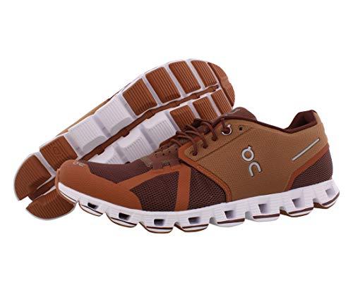 On Running M Cloud Braun, Herren Laufschuh, Größe EU 44 - Farbe Russet - Cocoa