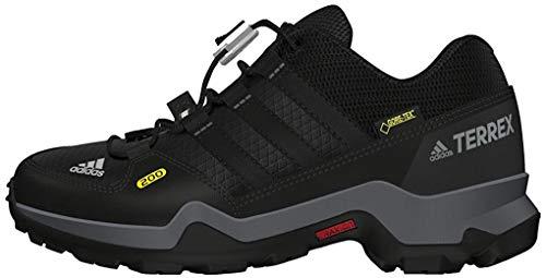 Adidas Terrex Gtx, Unisex-Kinder Wanderschuhe, Schwarz (Negbas/negbas/grivis), 32 EU