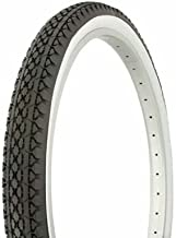 PAIR of Duro 26 x 2.125 BLACK/WHITE Side Wall HF-133 Heavy Duty. Bicycle tire, bike tire, beach cruiser bike tire, cruiser bike tire, chopper bike tire, trike tire, tricycle tire