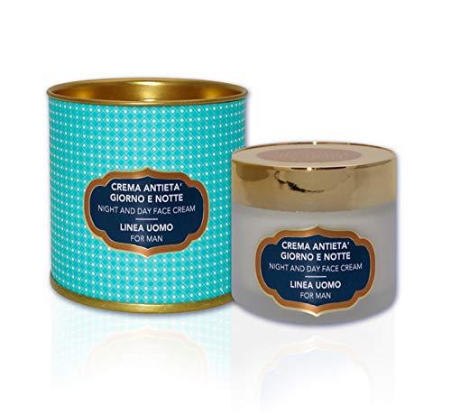 Crema antiedad para hombre día y noche antiarrugas super hidratante con Serum Viper y Proteína de Granada 50 ml
