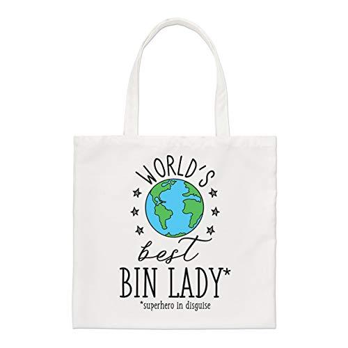 Gift Base World's Meilleur Poubelle Femme Standard Sac Fourre-Tout