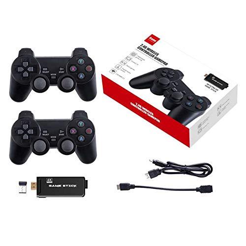 Neutral 32 GB 4K Ultra HD Game Stick Spiel 3000 in 1 + 2,4 G Wireless Controller Gamepad Unterstützt 40 Spiele im Simulatorformat
