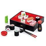 VIGA VIGA-50689 Toys 50689-Set de Sushi de Madera, Multicolor (50689)