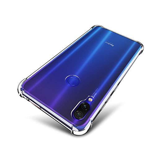 Capa Case Anti Shock Impactos Exclusiva Xiaomi Redmi Note 7 PRO - Capinha com Bordas Reforçadas