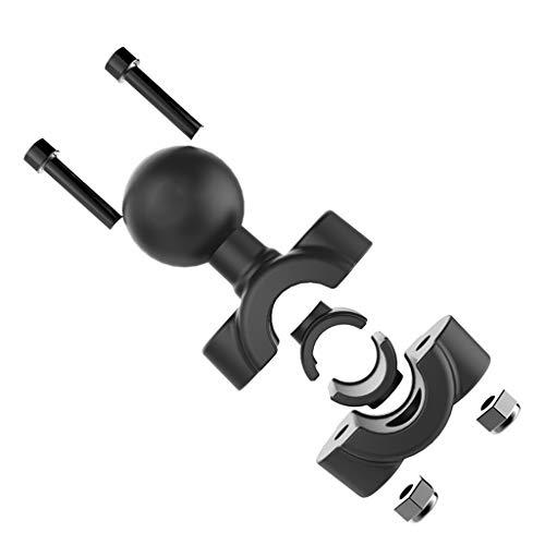 FangWWW Schienenhalterung 2,5 cm Kugelkopfstütze Motorrad Roller Rückspiegel Vorbau Bar Mount kompatibel für Gar Min Gopro kompatibel für Ram Halterungen