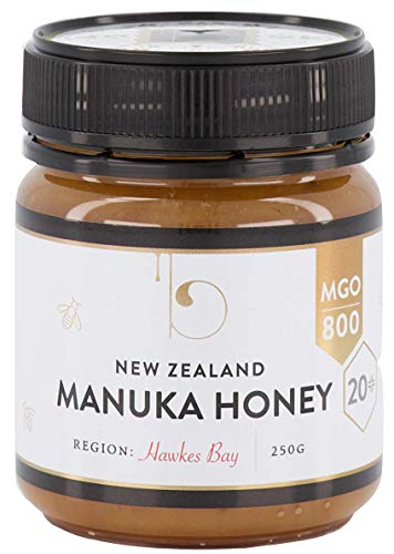 Manuka Honey New Zealand Premium certified MGO 800 (20+) Health & Wellness Manuka Honey | High-potency, 100% Pure, Raw & Unfiltered Manuka honey in 8.8 oz jars