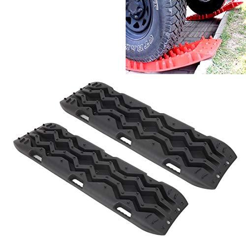 N/A WSUH Universal Car Schneeketten/Reifen Traction Mat Rad-Kette/Anti-Rutsch-Track, for die Reifen im Schnee, EIS, Schlamm und Sand, 2 PCS
