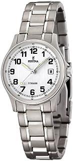 Reloj Analógico para Mujer de Cuarzo con Correa en Titanio 1028332