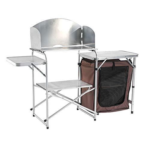 Cocina De Camping, Quick Kitchen Plus Mueble De Cocina Plegable De Camping, Cocina De Camping Todo En Uno Portátil para Viajes Al Aire Libre Y Picnic