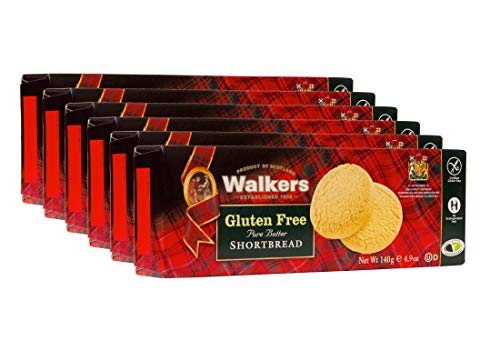 Walkers Shortbread Gluten-Free Shortbread Rounds, 4.9 Ounce (Pack of 6)
