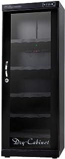 خزانة كهربائية جافة سعة 160 لتر، صندوق كبير لتفريغ الهواء لتخزين عدسة الكاميرا والمعدات البصرية، 5 رفوف قابلة للتعديل، لا ...