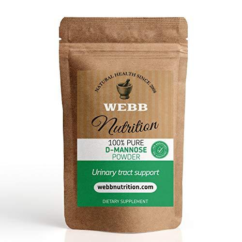 D-Mannose Powder 25g - Natural Sugar - Cystitis and UTI Support - No Additives