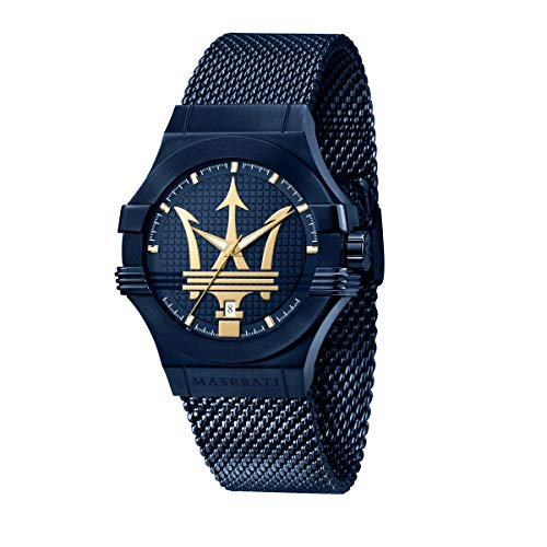 Orologio da uomo, Collezione Blue Edition, in Acciaio, PVD Blu - R8853108008