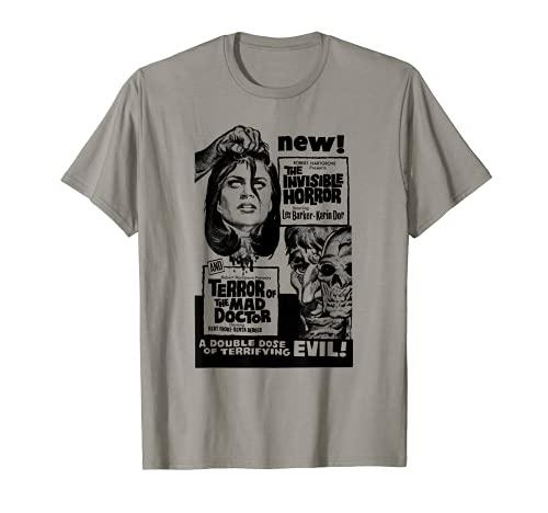Vintage Horror Movie T-shirt for Men, Women, S to 3XL