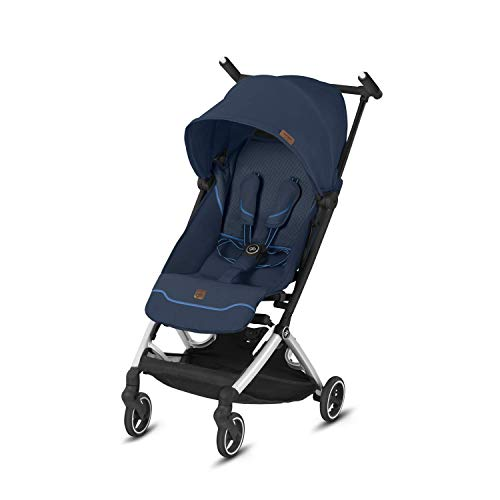 Gb Gold Pockit+ All-City 619000243 Silla de Paseo, 6 meses hasta 17 kg (Approx. 4 Años), Azul (Night Blue 2019 Fashion Collection)