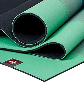 Manduka EKO Yoga Mat - Premium 6mm Thick Mat, Eco Friendly and Made from Natural Tree Rubber. Ultimate Catch Grip for Superior Traction, Dense Cushioning for Support and Stability.