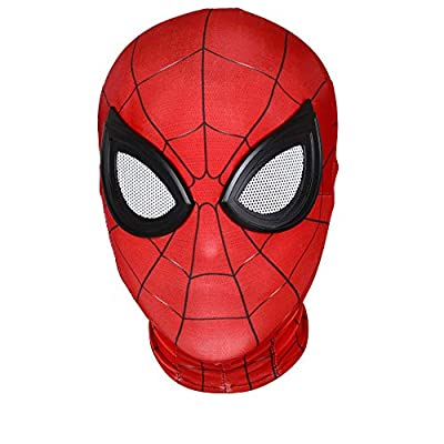 Halloween Mask Superhero Masks Cosplay Costumes Mask Lycra Fabric Material (Adult mask, 003) by