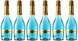 Don Luciano Blue Moscato Vino Espumoso Natural, Volumen de Alcohol 5.5% - Pack 6 Botellas x 750 ml - Total: 4500 ml