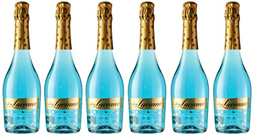 Don Luciano Blue Moscato Vino Espumoso Natural - Pack de 6 Botellas x 750 ml