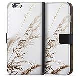 DeinDesign Étui Compatible avec Apple iPhone 6 Plus Étui Folio Étui magnétique Nature Herbe...
