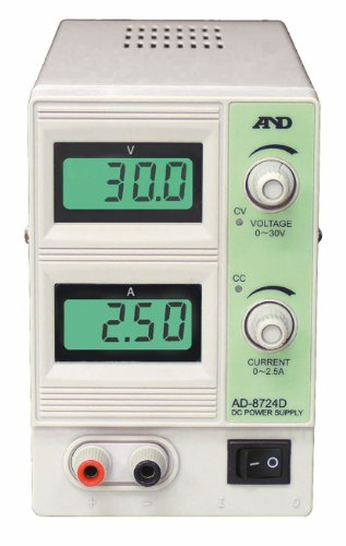 A&D 直流安定化電源 AD-8724D