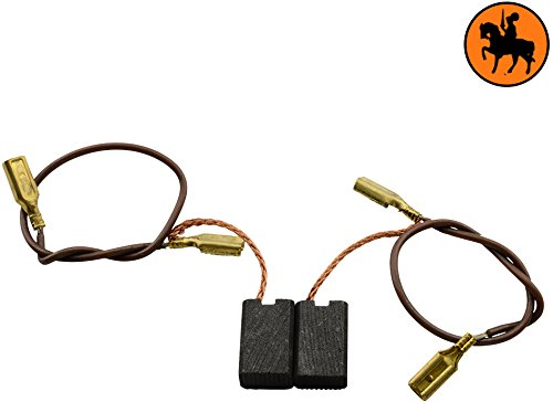 Escobillas de Carbón para KRESS 455 TBS taladro -- 5x8x12,3mm -- 2.0x3.1x4.7\'\'