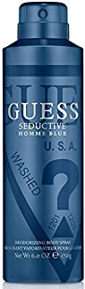 GUESS Seductive Blue Body Spray for Men, 170 g / 226 ml