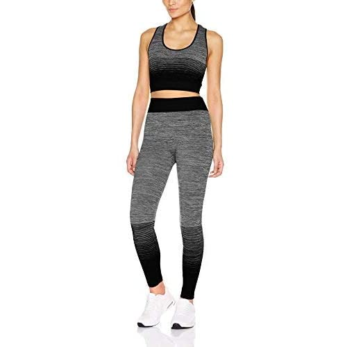 SF Womens Workout Cropped Top Yoga Sports Bra Sets Top Training Sportswear New