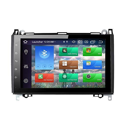 para Mercedes-Benz W169 W245 B160 B170 B180 B200 W639 Vito Viano W906 Sprinter VW Crafter Android 10 Octa Core 4GB RAM 128GB ROM 9