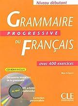Grammaire Progressive Du Francais Textbook + CD-ROM (Beginner)
