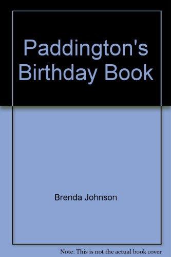 Paddington's Birthday Book