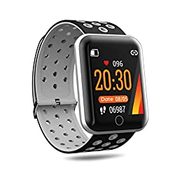 Digitek DSW-001 Fitness SmartWatch with Multi-Sports Mode | All Health Activity Tracking with Pedometer, BP Monitor and Heart Rate Monitoring | for Men and Women (Black),IMS Mercantiles Pvt. Ltd.,DSW-001