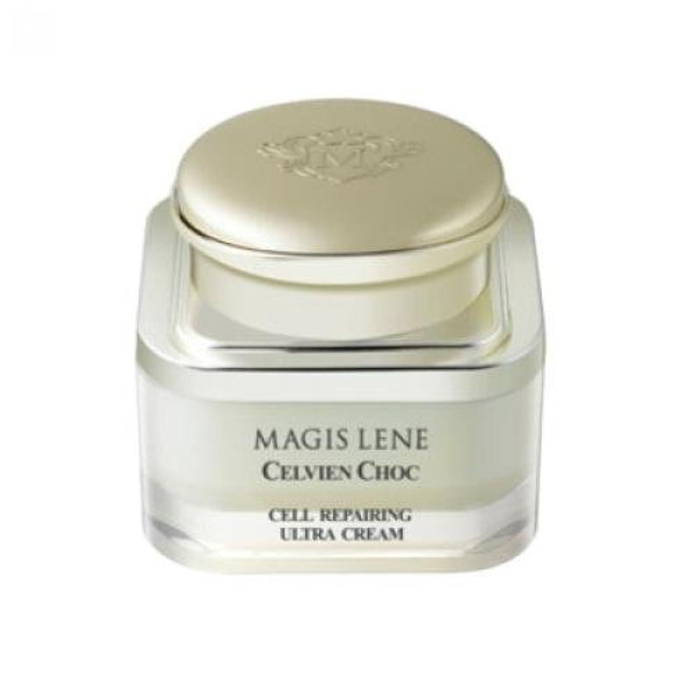 無声で蓮安心Magis Celvien Choc Cell Repairing Ultra Cream/ Made in Korea
