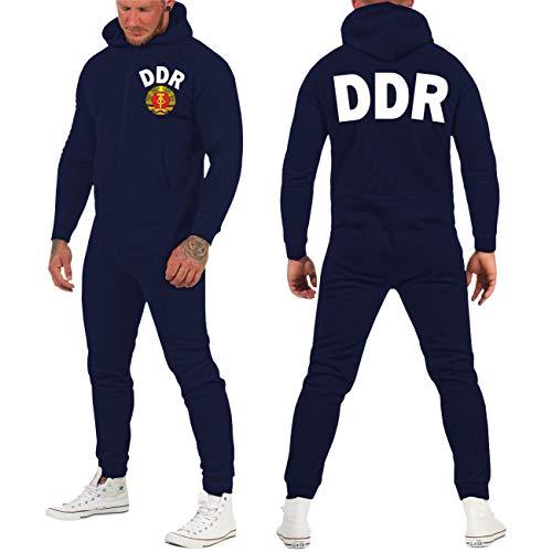 Spaß kostet Jogginganzug Jumpsuit DDR Trikot Größe XXS - XL