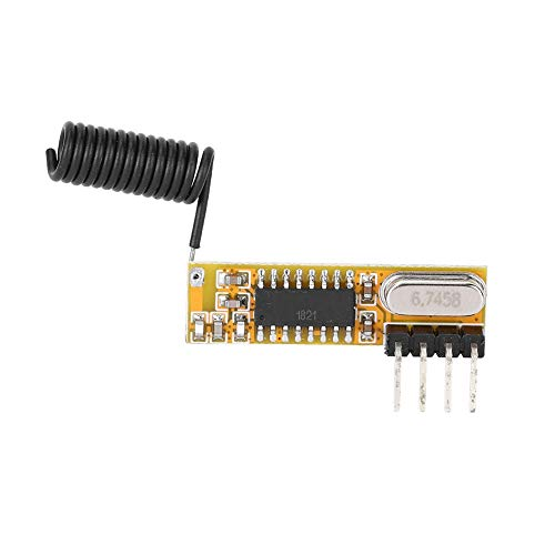 Draadloze 433MHZ RF-ontvanger module kit, RF Superheterodyne draadloze ontvanger module accessoires voor rolluik, raam, afstandsbediening LED, versterker, etc.