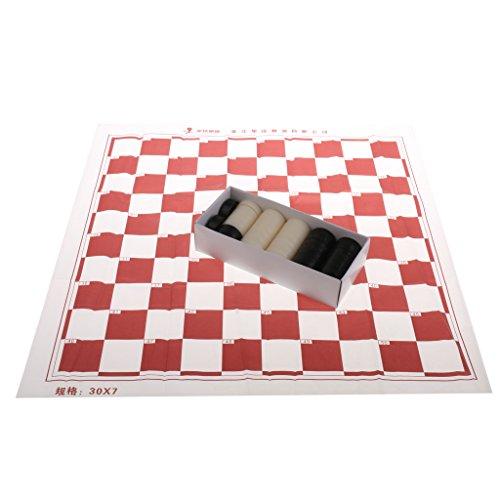 SM SunniMix Backgammon Dame Familienspiel Brettspiel mit Box Set - 40 Dame