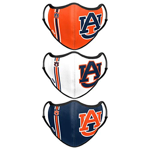 Auburn Tigers NCAA Sport 3 Pack Face Cover