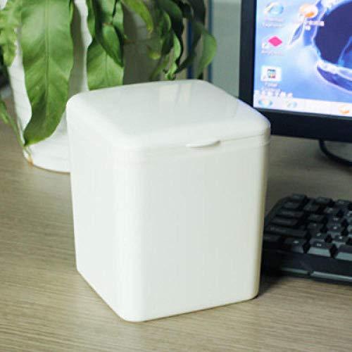 Papieren manden voor vuilnisemmer voor op het bureau, mini-papiermand voor kantoor en T