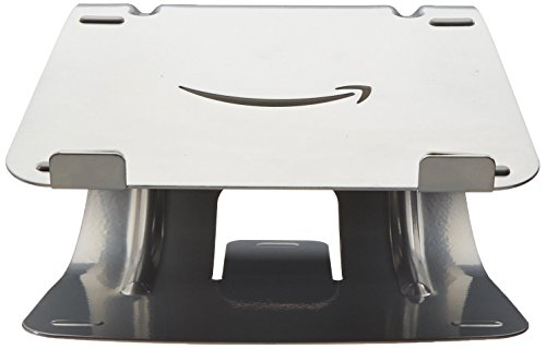 AmazonBasics Laptop Desk Stand for PC and Macbook - Silver