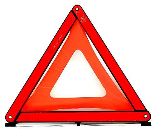 Colibri Warndreieck Auto PKW KFZ ECE R27 Pannenwarndreieck mit Aufbewahrungsbox Euro Warnsignaldreieck Pannenhilfe Notfalldreieck klein Schütz Sicherheit