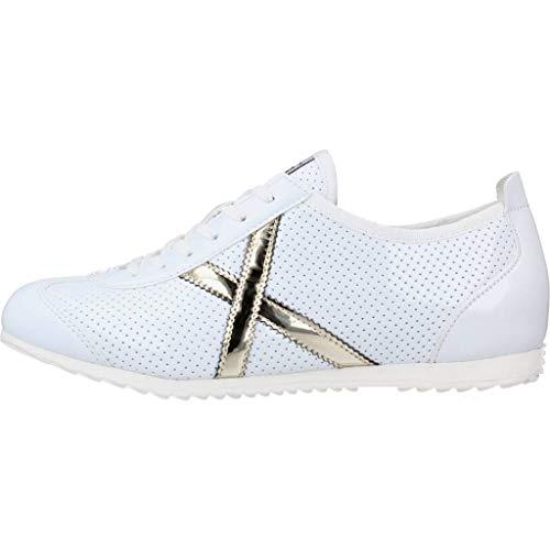 Munich Osaka 462 Blanco/Platino 8400462 Zapatillas para Mujer, 38