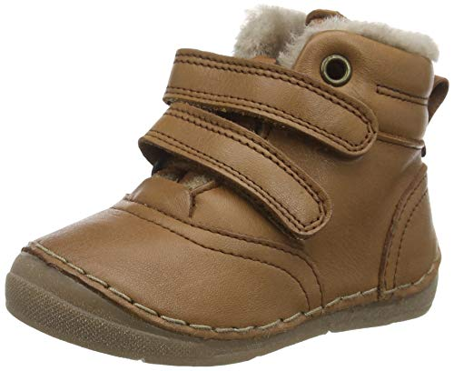 Froddo Baby G2110087 Unisex-Child Ankle Boot, Cognac, 20 EU