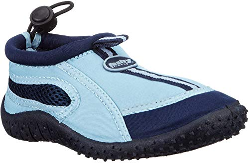 Fashy Jungen Guamo Kinder Aqua-Schuh Sport- & Outdoor Sandalen, Blau (Marine-Hellblau 51), 24 EU
