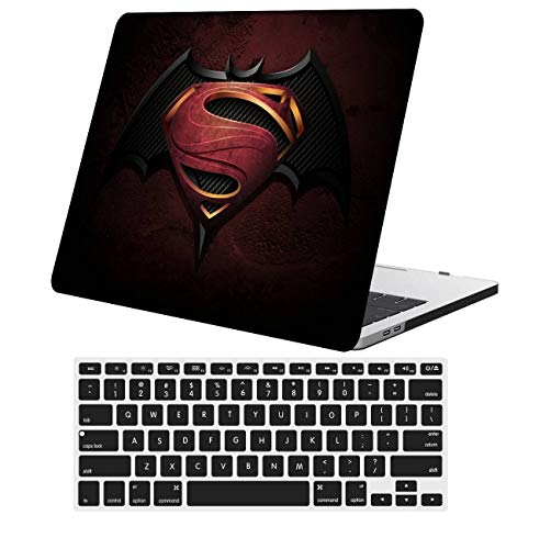 NKDCase Case for Newest MacBook Air 13 inch Model A2179 Cut Out Design,Plastic Ultra Slim Light Hard Case Keyboard Cover Compatible MacBook Air 13 inch with Retina Display Touch ID,Cartoon A 39