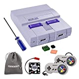 Retroflag SUPERPI CASE NESPI Case UCase SNES Case Functional Power and Safe Reset Button with 2PCS USB Controllers, Raspberry Pi Heatsink Fan for RetroPie Raspberry Pi 3/2 Model B & Raspberry Pi 3 B+